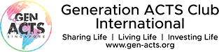 Gen ACTS logo for letterhead