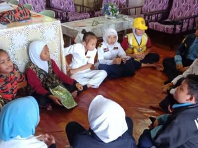 Role Play during Learning Time with Teacher Linda